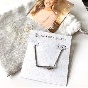 Kendra Scott Tabitha Pendant Necklace In Silver